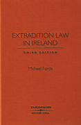 Cover of Extradition Law in Ireland