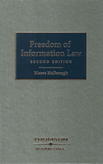 Cover of Freedom of Information Law in Ireland