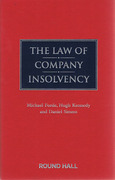 Cover of The Law of Company Insolvency