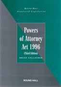 Cover of Annotated Legislation: Powers of Attorney Act 1996