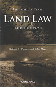 Cover of Essential Law Texts: Land Law