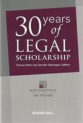 Cover of 30 Years of Legal Scholarship