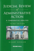 Cover of Judicial Review of Administrative Action: A Comparative Analysis