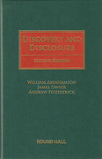 Cover of Discovery and Disclosure
