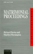 Cover of Practice Notes on Matrimonial Proceedings