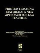 Cover of Printed Teaching Materials