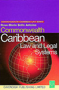 Cover of Commonwealth Caribbean Law and Legal Systems