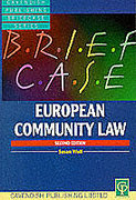 Cover of Briefcase on European Community Law