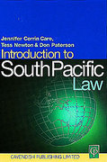 Cover of Introduction to South Pacific Law