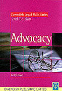 Cover of Legal Skills: Advocacy