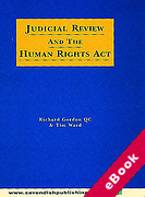 Cover of Judicial Review and Human Rights (eBook)