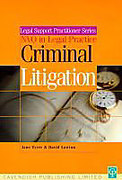 Cover of Criminal Litigation and Procedure
