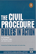 Cover of Civil Procedure Rules in Action