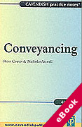 Cover of Practice Notes on Conveyancing (eBook)