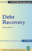 Cover of Practice Notes on Debt Recovery