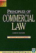 Cover of Principles of Commercial Law