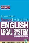 Cover of Sourcebook on English Legal System
