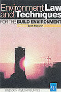 Cover of Environmental Law and Techniques for the Built Environment