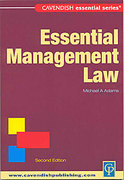 Cover of Australian Essential Management Law