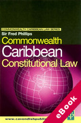 Cover of Commonwealth Caribbean Constitutional Law (eBook)