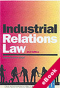 Cover of Industrial Relations Law (eBook)