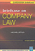 Cover of Briefcase on Company Law
