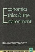Cover of Economics, Ethics and the Environment