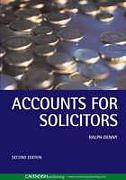Cover of Accounts for Solicitors