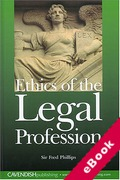 Cover of Ethics of the Legal Profession (eBook)