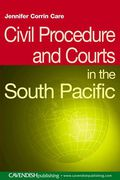 Cover of Civil Procedure and Courts in the South Pacific