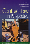 Cover of Contract Law in Perspective