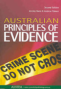Cover of Australian Principles of Evidence