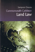 Cover of Commonwealth Caribbean Land Law