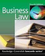 Cover of Routledge-Cavendish Lawcards: Business Law
