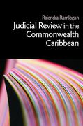 Cover of Judicial Review in the Commonwealth Caribbean