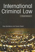 Cover of International Criminal Law