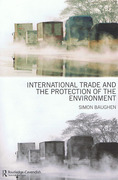 Cover of International Trade and the Protection of the Environment
