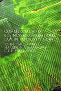 Cover of Commercial and Business Organizations Law in Papua New Guinea