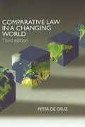 Cover of Comparative Law in a Changing World
