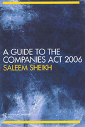 Cover of A Guide to The Companies Act 2006