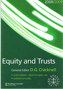 Cover of Routledge-Cavendish Core Statutes: Equity and Trusts 2008/2009