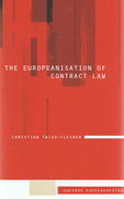 Cover of The Europeanisation of Contract Law