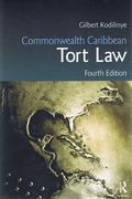 Cover of Commonwealth Caribbean Tort Law