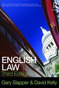 Cover of English Law