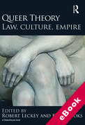 Cover of Queer Theory: Law, Culture, Empire (eBook)