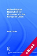 Cover of Online Dispute Resolution for Consumers in the European Union (eBook)
