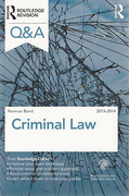 Cover of Routledge Revision Q&A: Criminal Law 2013 - 2014