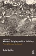 Cover of Women, Judging and the Judiciary: From Difference to Diversity