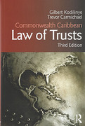 Cover of Commonwealth Caribbean Law of Trusts