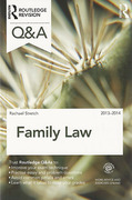 Cover of Routledge Revision Q&A: Family Law 2013 - 2014